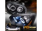 Фары Angel Eyes+LED для Subaru Impreza 04-05